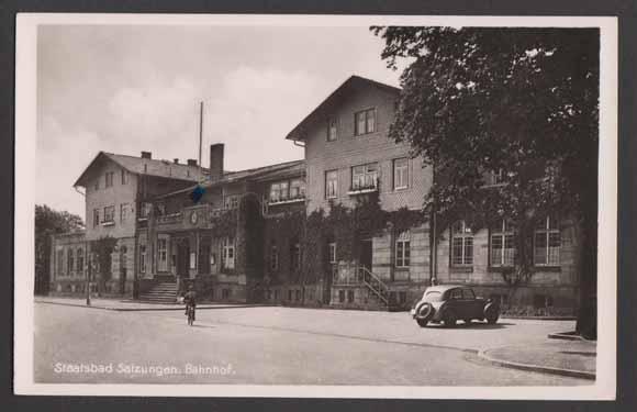 Bahnhof um 1950